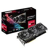 ASUS Carte Graphique ROG-STRIX-RX580-O8G-GAMING (OC Édition, AMD Radeon RX 580, 8Go Mémoire GDDR5)
