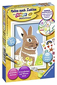 Ravensburger Malen Nach Zahlen Kit de Pintura por números - Libros y páginas para Colorear (Kit de Pintura por números, 1 páginas, Niño, Niño/niña, 7 año(s), 8,5 cm)