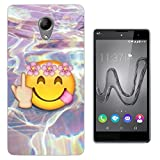 002845 - Emoji Hippie Floral Roses flowers Galaxy Middle