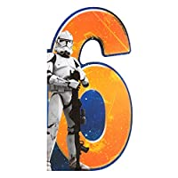 "Hallmark 11517849 Star Wars 6th Birthday Card ""Fun"" - Medium"
