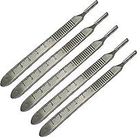 Surgimax No.3 Graduated Edelstahl CE chirurgischer Skalpell-Klingengriff, 5 Stück preisvergleich bei billige-tabletten.eu