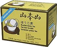 Yamamotoyama Hojicha Roasted Green Tea, 16-Count Boxes (Pack of 12)