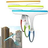 KaariFirefly Glass Window Wiper Soap Cleaner Squeegee Shower Bathroom Mirror Car Blade