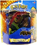Mattel Harry Potter und Der Stein Der Weisen Stone Norbert Luxus Creature Collection Figur