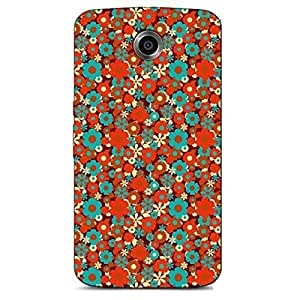 MULTICOLOR BACKGROUND BACK COVER FOR GOOGLE NEXUS 6