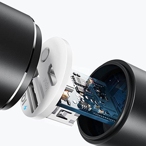 Anker 3350mAh Externer Akku PowerCore+ mini Power Bank USB Ladegerät mit PowerIQ und Panasonic Batteriezelle für iPhone 6s, 6, 5s, Galaxy S6, S5, S4, S3, S3 mini, Nexus und andere Smartphones und Tablets (Schwarz)