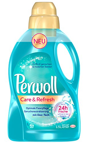 Perwoll Care & Refresh, 4er Pack (4 x 20 Waschladungen)