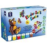 Feuchtmann Spielwaren 6280517 - Kinder Soft Knete Basic Maxi, 12-teilig