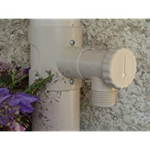 Recuperador de aguas pluviales. Para goterón de 80 a 100 mm. SIN CORTAR EL TUBO.