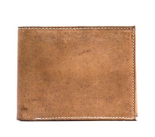 GYPSY XXI Handgefertigte große Geldbörse aus Leder mit mehreren Kartenfächern für Herren - Gypsy Leder