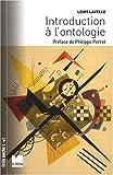 Introduction à l'ontologie