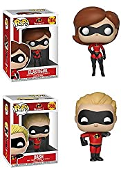 Funkopop Incredibles 2: Elastigirl + Dash – Stylized Disney Pixar Vinyl 2 Figure Bundle Set New