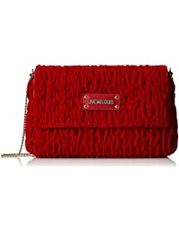 Borsa Tissu Rosso, Femmes Sac À Bandoulière, Rot (rouge), 17x28x5 Cm (bxht) Moschino D'amour