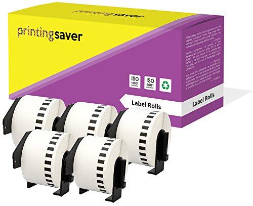 5 Rollen DK22223 DK-22223 50mm x 30.48m Endlos-Etiketten kompatibel für Brother P-Touch QL-500 QL-550 QL-560 QL-570 QL-580N QL-700 QL-720NW QL-800 QL-810W QL-820NWB QL-1050 QL-1060N QL-1100 QL-1110NWB - Ql P-touch 500 Brother