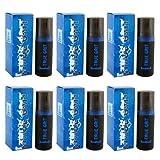 , 6 unidades De - la verdadera - Milton Lloyd De grano reciclado De manga corta para hombre Colonia De imitación - - Toilette Aftershave EDT 50 ml