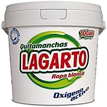 Lagarto Quitamanchas Ropa Blanca - Paquete de 6 x 600 gr - Total: 3600 gr