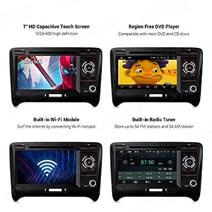 XTRONS-7-Android-90-4GB-RAM-64GB-ROM-Autoradio-mit-Touch-Screen-Octa-Core-Multimedia-Player-untersttzt-4G-WiFi-Bluetooth-DAB-OBD2-TPMS-Musik-Streaming-Plug-und-Play-FR-Audi-TT-MK2-8J