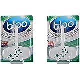 Bloo Solid Rim Toilet Block Complete Pine - Combi Pack of 2