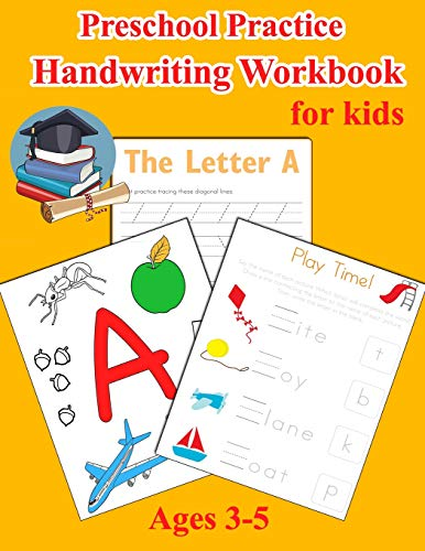 Zoom IMG-2 preschool practice handwriting workbook for