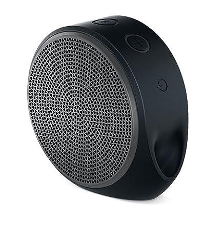 Logitech X100 Enceintes Bluetooth RMS 3 W Noir