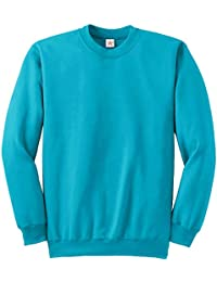 Sweatshirts unisex jumpers, mens sweats basic crew neck set in sleeve sweatshirts S - XXL