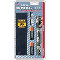 Maglite M2Amrh Aa Mini Torcia E Holster Combo Pack, Universal Camo