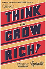 Think and Grow Rich (Official Publication of the Napoleon Hill Foundation) Taschenbuch