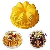 Premium Antiadherente Moldes para tartas, FantasyDay Moldes de Silicona para Caramelos, Chocolate, Hornear, Tarta, Galletas, Jabón, Hielo - Antiadherente Apto Para Lavavajillas Y Microondas - Castillo