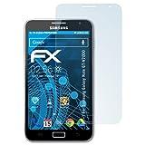 atFolix Displayschutzfolie für Samsung Galaxy Note (GT-N7000) Schutzfolie - 3 x FX-Clear kristallklare Folie