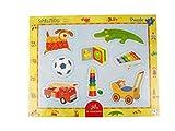 Rahmenpuzzle mit Fingerlochstanzung Spielzeug (8 Teile)