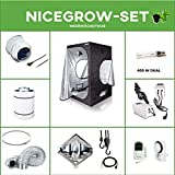 Growset Dark Box 100 Komplett VSG NDL 400W Duallampe Diamond Reflektor Grow Set
