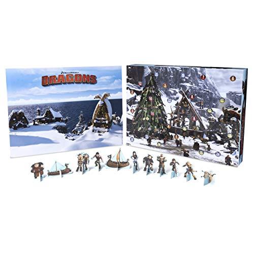 Spin Master DreamWorks Dragons 6036479 - Calendario dell'Avvento