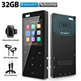 MP3 Player 32GB with Bluetooth 4.2, Hi-Fi Lossless Music Player with FM Radio