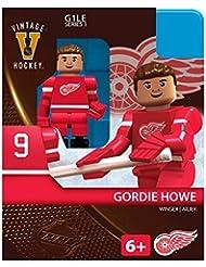 OYO Hockey NHL Building Brick Minifigure Gordie Howe [Red Wings]