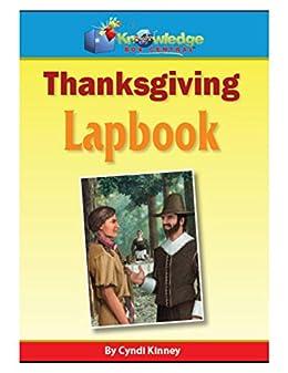 Thanksgiving Lapbook: Plus FREE Printable Ebook (English Edition ...