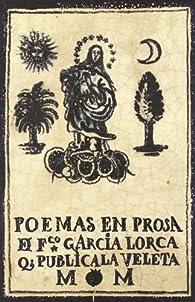 Poemas en prosa par Federico García Lorca