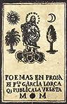 Poemas en prosa par García Lorca
