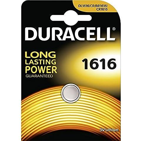 Duracell Pile-bouton au lithium CR1616 3V