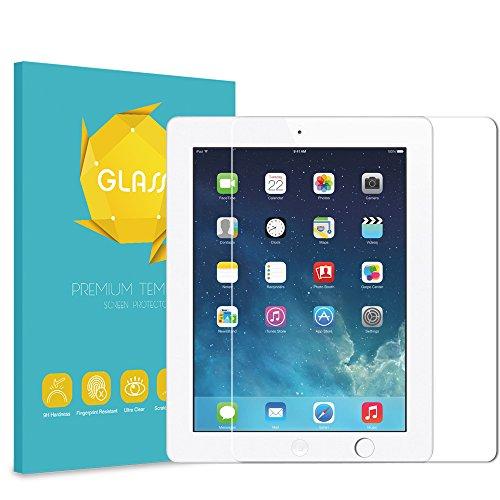 Fintie iPad 2/3 / 4 Gehärtetem Glas Schutzfolie Panzerglas - 9H Härte kristallkla Kratzfest Displayschutzfolie Glasfolie Screen Protector für Apple iPad 2 / iPad 3 / iPad 4 Generation (Ipad 4 Screen Protector)