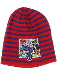 STAMION Ensemble bonnet, écharpe et gants - Garçon Rouge Rot Taille Unique 601136950ec