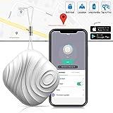 Schlüsselfinder Key Finder - Luxsure Nut 3 Anti-Lost Mini Wireless Tracker für Schlüssel Handy Wallet Pet Geldbörse Gepäck Locator mit App-Steuerung für IOS Android Geräte (Eine Grau)