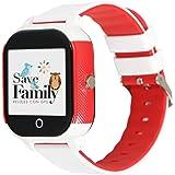 Reloj con GPS para niños Save Family Modelo Junior Acuático IP67. Smartwatch Juvenil. Botón SOS, Anti-Bullying, Chat Privado,