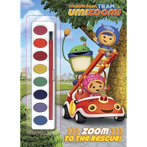 Zoom to the Rescue! (Team Umizoomi) (Paint Box Book) by Golden Books (2013-01-08)