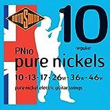 Rotosound Pure Nickels Jeu de cordes pour guitare électrique Nickel Tirant regular (10 13 17 26 36 46)