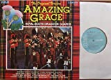 "The Original Version AMAZING GRACE / ROYAL SCOTS DRAGOON GUARDS / PIPES DRUMS & MILITARY BAND OF ROYAL SCOTS DRAGOON GUARDS ( CARABINIERS & GREYS ) / Bildhülle mit ORIGINAL Innen-Hülle / RCA # CDS 1157 / Deutsche Pressung / 12"" Vinyl Langspiel Schallplatte"