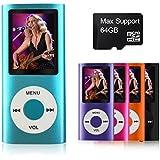 mymahdi apoyo TF tarjeta Micro USB puerto delgado pequeña selección multilingües 1.8LCD reproductor de mp3/mp4, mp3reproductor, MP4reproductor, reproductor de vídeo, reproductor de música, reproductor multimedia, reproductor de audio azul