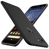 iBetter per Google Pixel 3a Cover, Thin Fit Gomma Morbida Protettiva Cover, Protezione Durevole,per la Google Pixel 3a Smartphone.(Nero)