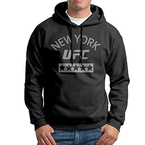 Alb2d UFC 205 - Felpa con Cappuccio da Uomo con Logo New York Arch