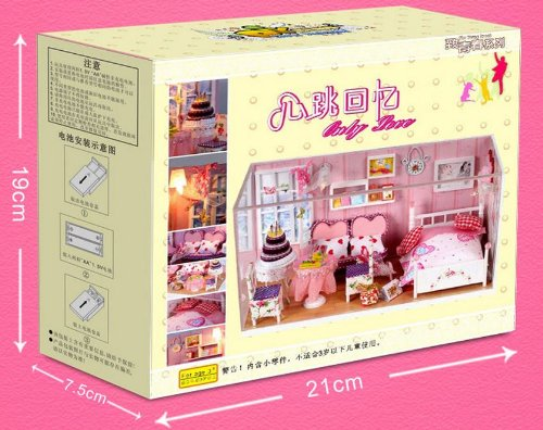 Dollhouse miniature handmade kit set Only Love (japan import)