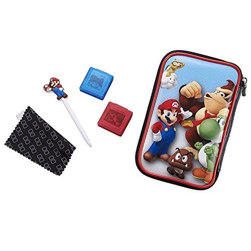 """Offizielles Nintendo New 3DS XL / 3DS XL - Zubehör-Set """"Official Essential Mario Pack"""" , Motiv: Donkey Kong"""